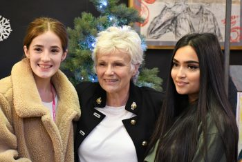 Dame Julie Walters and fans
