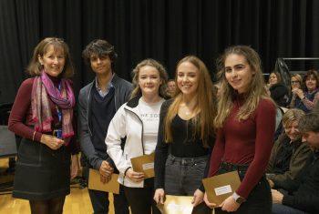 Trustees' Curriculum Prize winners (2)