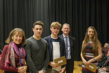 Trustees' Curriculum Prize winners (3)