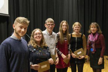 Trustees' Curriculum Prize winners