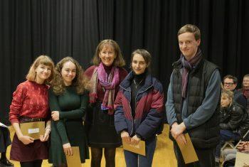 Trustees' Curriculum Prize winners (4)