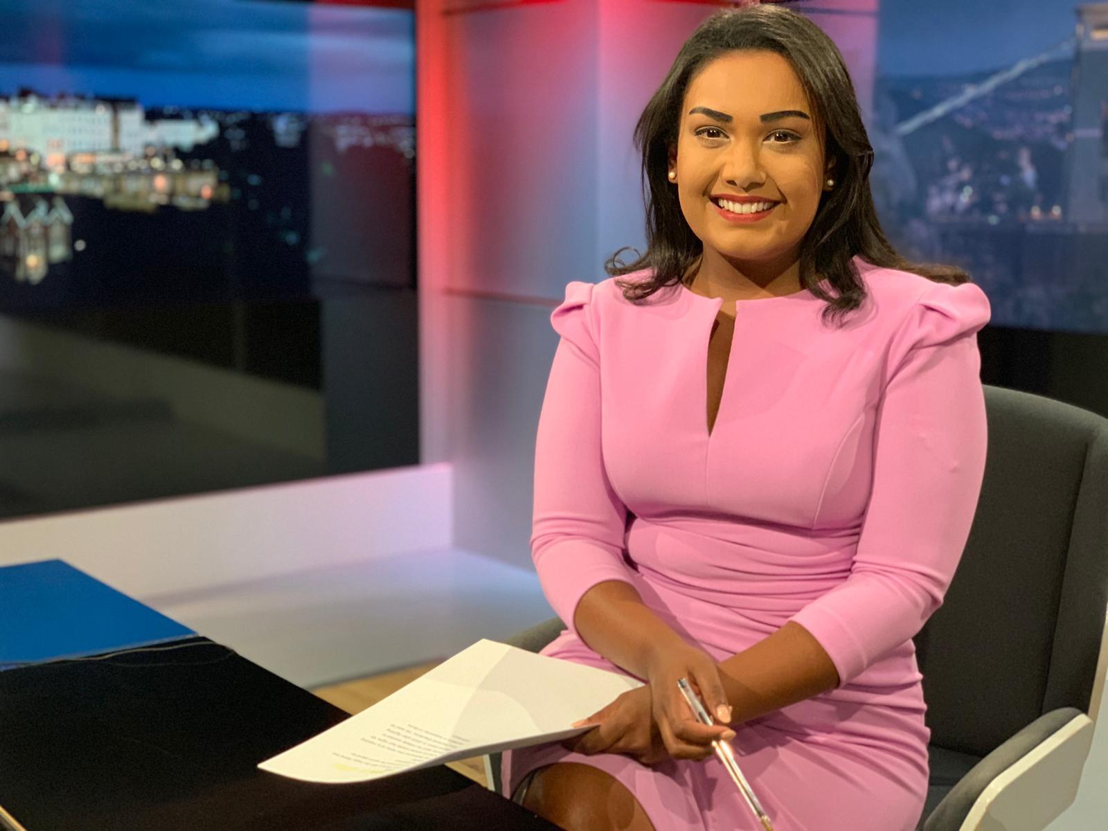 Sky News Broadcaster back at Collyer's