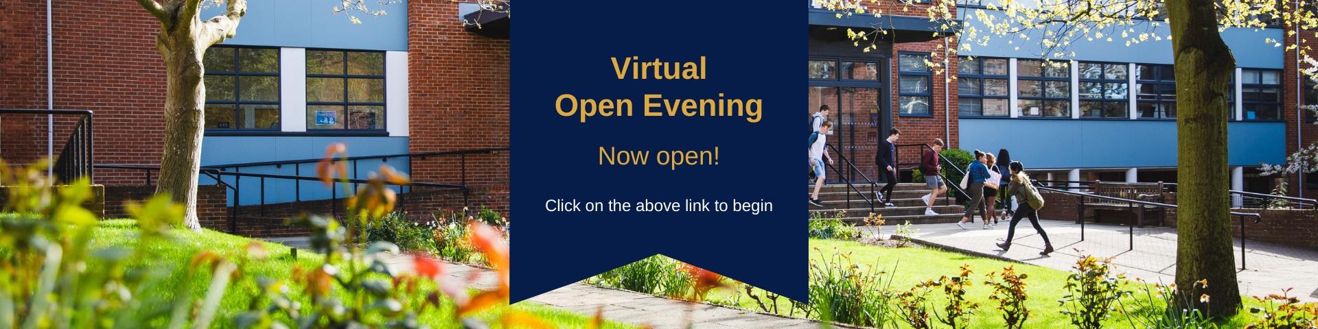 Virtual now open
